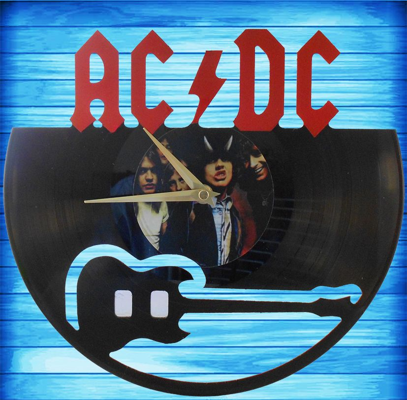 AC/DC 'Highway to Hell' Clock