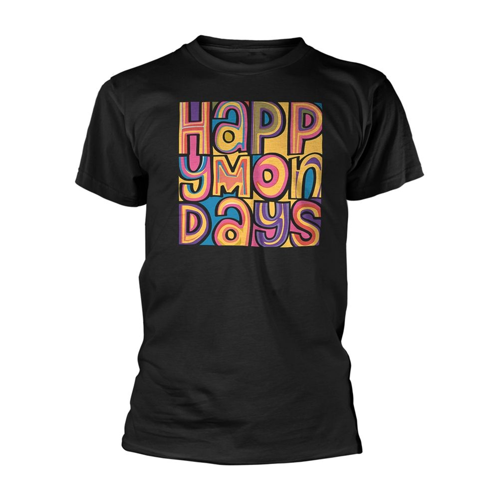 Happy Mondays 'Happy Mondays' T Shirt  XX Large